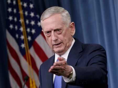 "Secretary Mattis Update on the ""Defeat ISIS Campaign"""