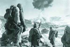 Marines fight at the Chosin Reservoir